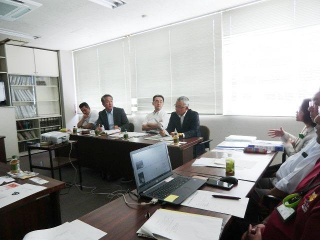 愛知県知多市議会の皆さんが視察来庁